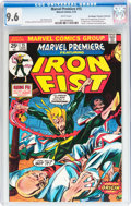 Bronze Age (1970-1979):Superhero, Marvel Premiere #15 Iron Fist - Don/Maggie Thompson Collection pedigree (Marvel, 1974) CGC NM+ 9.6 White pages....
