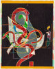 FRANK STELLA (American, b. 1936) Pergusa Three (from the Circuits series), 1983 Woodcut and relief-printed etc
