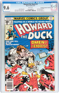 Bronze Age (1970-1979):Humor, Howard the Duck #13 Don/Maggie Thompson Collection pedigree(Marvel, 1977) CGC NM+ 9.6 White pages....