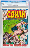 Bronze Age (1970-1979):Adventure, Conan the Barbarian #13 Don/Maggie Thompson Collection pedigree (Marvel, 1972) CGC NM+ 9.6 White pages....