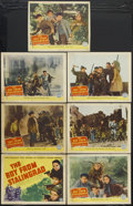 "Movie Posters:War, The Boy From Stalingrad (Columbia, 1943). Lobby Card Set of 8 (11""X 14""). War. Starring Bobby Samarzich, Conrad Binyon, Mar...(Total: 8 Items)"