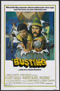 "Busting (United Artists, 1974). One Sheet (27"" X 41""). Crime Drama. Starring Elliott Gould, Robert Blake, Alle..."