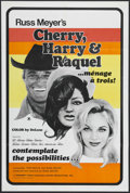 "Cherry, Harry & Raquel (Eve Productions, 1970). One Sheet (27"" X 41""). Crime Thriller. Starring Larissa El..."