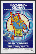 """Movie Posters:Thriller, The Terrorists (20th Century Fox, 1975). One Sheet (27"""" X 41""""). Crime Thriller. Starring Sean Connery, Ian McShane, Isabel D..."""