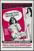"""Movie Posters:Adult, Massage Parlor Hookers (Unknown, 1978). One Sheet (27"""" X 41""""). Adult. Starring George Spencer, John Moser, Sandra Peabody an..."""