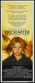 "Movie Posters:Horror, Firestarter (Universal, 1984). Insert (14"" X 36""). Horror. Starring David Keith, Drew Barrymore, Freddie Jones, Heather Lock..."
