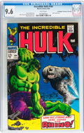 Silver Age (1956-1969):Superhero, The Incredible Hulk #104 Don/Maggie Thompson Collection pedigree (Marvel, 1968) CGC NM+ 9.6 White pages....
