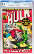 Bronze Age (1970-1979):Superhero, The Incredible Hulk #155 Don/Maggie Thompson Collection pedigree (Marvel, 1972) CGC NM+ 9.6 White pages....