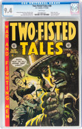Golden Age (1938-1955):Adventure, Two-Fisted Tales #30 (EC, 1952) CGC NM 9.4 White pages....