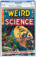 Golden Age (1938-1955):Science Fiction, Weird Science #9 (EC, 1951) CGC NM- 9.2 Off-white to whitepages....