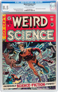 Golden Age (1938-1955):Science Fiction, Weird Science #12 (EC, 1952) CGC VF+ 8.5 Off-white to whitepages....