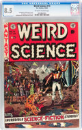 Golden Age (1938-1955):Science Fiction, Weird Science #13 (EC, 1952) CGC VF+ 8.5 Off-white to white pages....