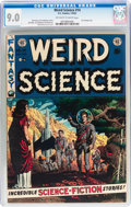 Golden Age (1938-1955):Science Fiction, Weird Science #14 (EC, 1952) CGC VF/NM 9.0 Off-white to whitepages....
