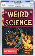 Golden Age (1938-1955):Science Fiction, Weird Science #19 (EC, 1953) CGC VF+ 8.5 Off-white to white pages....