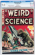 Golden Age (1938-1955):Science Fiction, Weird Science #15 (EC, 1952) CGC VF/NM 9.0 White pages....