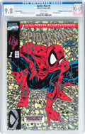 Modern Age (1980-Present):Superhero, Spider-Man #1 Platinum Edition - Don/Maggie Thompson Collectionpedigree (Marvel, 1990) CGC NM/MT 9.8 White pages....