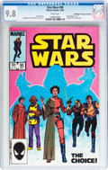 Modern Age (1980-Present):Science Fiction, Star Wars #90 Don/Maggie Thompson Collection pedigree (Marvel,1984) CGC NM/MT 9.8 White pages....