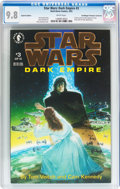 Modern Age (1980-Present):Science Fiction, Star Wars: Dark Empire #3 Gold Foil Edition - Don/Maggie Thompson Collection pedigree (Dark Horse, 1993) CGC NM/MT 9.8 White p...