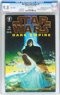 Star Wars: Dark Empire #3 Gold Foil Edition - Don/Maggie Thompson Collection pedigree (Dark Horse, 1993) CGC NM/MT 9.8 W...