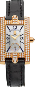 "Estate Jewelry:Watches, Harry Winston Lady's Diamond, Gold ""Avenue"" Watch. ..."