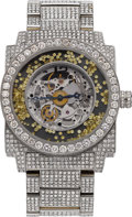 "Estate Jewelry:Watches, Dunamis Men's Diamond, Stainless Steel ""Hubris"" Watch . ..."