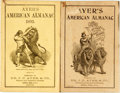 Books:Americana & American History, [Almanac]. Group of Two Copies of Ayer's American Almanac.Lowell, J.C. Ayer, [1895, 1896]. Twelvemos. Publisher's p...(Total: 2 Items)