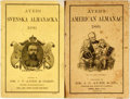Books:Americana & American History, [Almanac]. Group of Two Copies of Ayer's American Almanac.Lowell, J.C. Ayer, [1889, 1890]. Twelvemos. Publisher's p...(Total: 2 Items)