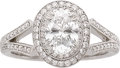 Estate Jewelry:Rings, Michael Beaudry Diamond, Platinum Ring. ...
