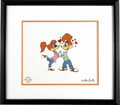 "Animation Art:Limited Editions, Woody Woodpecker ""Lovebirds"" Limited Edition Serigraph Cel OriginalArt (Walter Lantz Productions, 1997). Love is in the air..."