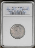 Coins of Hawaii: , 1883 25C Hawaii Quarter--Ex-Jewelry-- ANACS. AU 55 Details. NGCCensus: (25/475). PCGS Population (55/887). Mintage: 500,00...