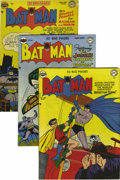 Golden Age (1938-1955):Superhero, Batman Group (DC, 1950-54) Condition: Average VG-. Issues #60, 61, 62, 63, 66, 67, 68, and 81 are included here -- if you're... (Total: 8 Comic Books)