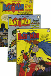 Batman Group (DC, 1950-54) Condition: Average VG-. Issues #60, 61, 62, 63, 66, 67, 68, and 81 are included here -- if yo...
