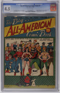 Golden Age (1938-1955):Superhero, Big All-American Comic Book #1 (DC, 1944) CGC VG+ 4.5 Off-white pages. No matter what you pay for this book, one thing holds...