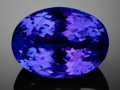 Gems:Faceted, FINE LARGE GEMSTONE: UNTREATED DEEP BLUE TANZANITE - 26.23 CT..Tanzania. ...