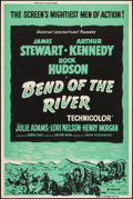 "Movie Posters:Western, Bend of the River (Universal International, R-1958). Poster (40"" X 60""). Posters (3) (40"" X 60"") Regular, Style Y, & Silk Sc... (Total: 3 Items)"