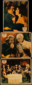 """Movie Posters:War, The Patriot (Paramount, 1928). Jumbo Lobby Cards (3) (14"""" X 17"""").War.. ... (Total: 3 Items)"""