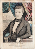 Political:Posters & Broadsides (1896-present), James K. Polk: Currier Lithograph....
