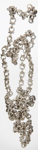Antiquities, Antiquities: BYZANTINE EMPIRE. Silver chain. Ca. AD700-1000. ...