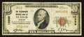 National Bank Notes:Missouri, Saint Louis, MO - $10 1929 Ty. 1 The Telegraphers NB Ch. # 12389....