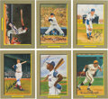 "Baseball Collectibles:Others, 1985-90 Perez-Steele Galleries Signed ""Great Moments"" Cards Lot of33. ..."
