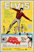 """Movie Posters:Elvis Presley, Girl Happy & Other Lot (MGM, 1965). One Sheet (27"""" X 41"""") &Color Photo (8"""" X 10""""). Elvis Presley.. ... (Total: 2 Items)"""
