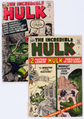 Silver Age (1956-1969):Superhero, The Incredible Hulk #4 and 5 Group (Marvel, 1962-63) Condition: Average FR/GD.... (Total: 2 Comic Books)