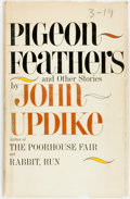 Books:Literature 1900-up, [Arthur Mizener's copy]. John Updike. Pigeon Feathers and OtherStories. New York: Knopf, 1962. First edition. Publi...