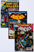 Bronze Age (1970-1979):Horror, Tomb of Dracula Near-Complete Series Group (Marvel, 1972-79)Condition: Average VF+.... (Total: 69 Comic Books)