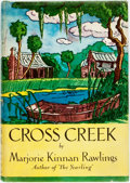 Books:Children's Books, Marjorie Kinnan Rawlings. Cross Creek. New York: CharlesScribner's Sons, 1942. First edition. Publisher's cloth bin...
