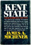 Books:Americana & American History, James A. Michener. Kent State. New York: Random House,[1971]. First edition. Publisher's cloth binding with origina...