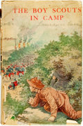 Books:Children's Books, Major Robert Maitland. The Boy Scouts in Camp. Chicago:Saalfield, [1912]. No edition stated. Twelvemo. Publisher's ...