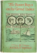 Books:Children's Books, Arthur M. Winfield. The Rover Boys on the Great Lakes: orthe secret of the island cave. New York: Chatterton-Pe...