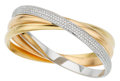 Estate Jewelry:Bracelets, Cartier Diamond, Gold Bracelet. ...