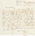 Miscellaneous:Ephemera, [Confederate Army of the Shenandoah]. Confederate Soldier'sLetter....